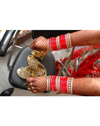 buy online bridal chura churra