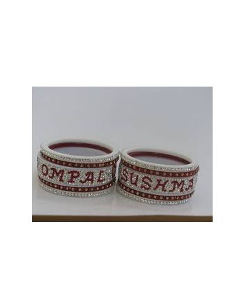 wedding bangle online bridal chura with name online
