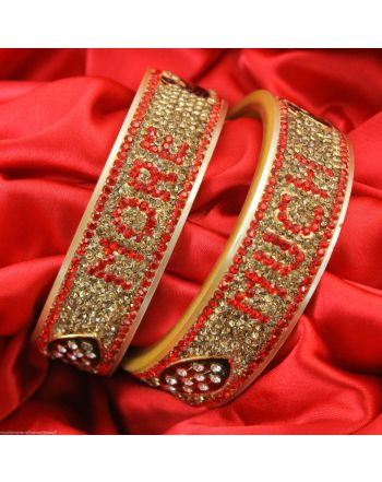 Bridal Name Bangles set / Dulhan Ki Choodi,