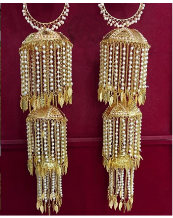 Traditional Wedding Wear Punabi kalere/Kaleera/Kalera/Bridal Hand Hanging